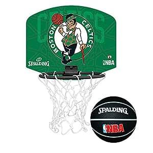 Spalding NBA Team mini basketball set (Boston Celtics)
