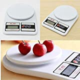 PAviitraCreation Electronic Kitchen Digital Weighing Scale (10 Kg, White)