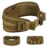 Selighting Cinturón de Utilidad Molle Táctica Militar de Nylón Cintura de Protección...