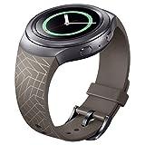 Susenstone Luxus TPU Silikon-Uhrenarmband -Bügel für Samsung Galaxy S2 Gang SM-R720