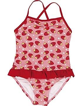 Playshoes Mädchen Einteiler Uv-schutz Badeanzug Erdbeeren