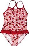 Playshoes Mädchen Badeanzüge Erdbeeren, Gr. 74 (Herstellergröße: 74/80), Mehrfarbig (original 900)