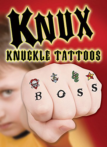 KNUX -- Knuckle Tattoos for Boys (Dover Little Activity Books) by Dover (2015-06-17)
