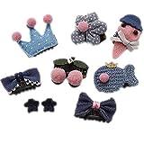 Baby Kleine Mädchen Haarspangen Multi-Style Headwear Haarspangen Haarnadeln Set für Mädchen Kleinkinder Kinder Haarschmuck