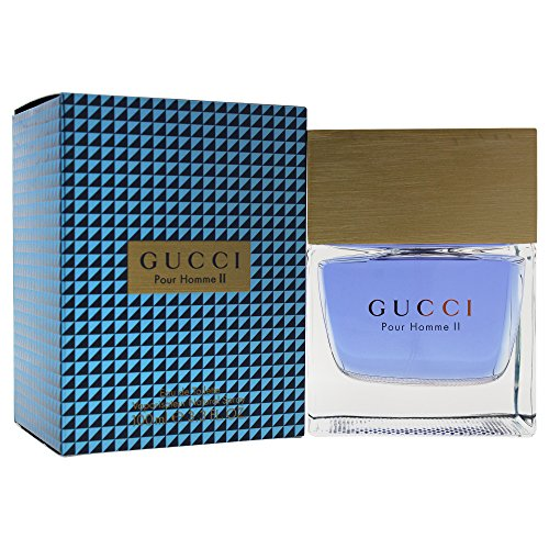Gucci 2 pour homme/men, Eau de Toilette, Vaporisateur/Spray 100 ml, 1er Pack (1 x 100 ml)