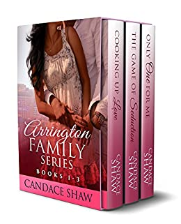 The Arrington Family Series Box Set (Books 1 to 3) by [Shaw, Candace]