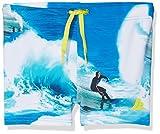 NAME IT Baby-Jungen Badehose NITZEDI Swim Shorts MZ, Mehrfarbig (Nautical Blue), 98 (Herstellergröße: 98-104)