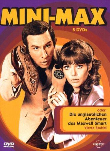Mini-Max oder: Die unglaublichen Abenteuer des Maxwell Smart - Vierte Staffel [5 DVDs]