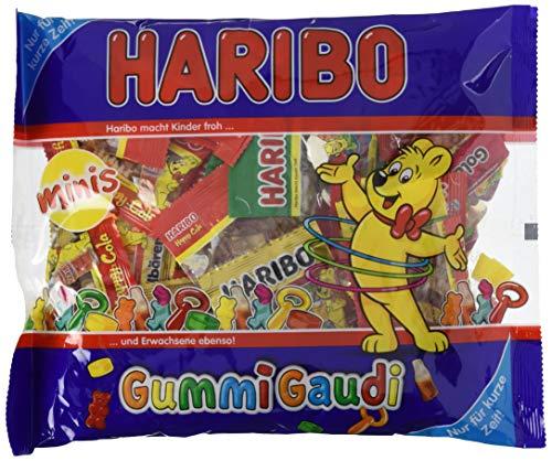 Haribo Gummi Gaudi, Beutel, 4er Pack (4 x 630 g)