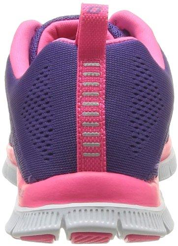 Skechers Damen 11729/Ccbk Flex Appeal-Sweet Spot Charcoal/Black Low-Top 38