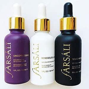 Farsali Face Serum Combo Offer- Farsali Elixir Gold, Unicorn Essence & Volcanic Elixir