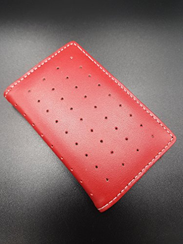 MARWARE CEO Card Wallet Red Rot Schutzhülle für iPod Nano 1G 1st Generation 1GB 2GB 4GB Cover Hülle (Red) 2. Generation 4gb Mp3-player
