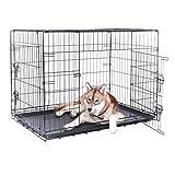 dibea - Transportkäfig für Hunde und Kleintiere
