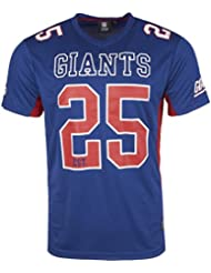Majestic NFL NEW YORK GIANTS Moro Mesh Jersey T-Shirt