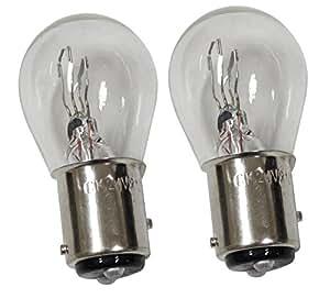 Aerzetix: Jeu de 2 Ampoules 24V P21/5W pour camion semi-remorque - C2064