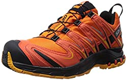 Salomon XA PRO 3D GTX, Men's Running Shoes, Orange (Clementine-X / Tomato Red / Yellow Gold), 49 1 / 3 EU (13.5 Men's UK)