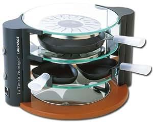 Lagrange 149006 Raclette La Tour a Fromages® 8 personnes 2 en 1 raclette et reblochonnade