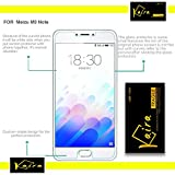 Kaira Meizu M3 Note 0.26mm Thickness 2.5D Curved Edged Tempered Glass Screen Protector with Smooth Touch for Meizu M3 Note