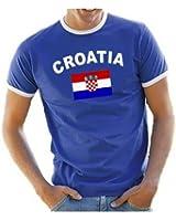 Coole-Fun-T-Shirts Herren T-Shirt Ringer