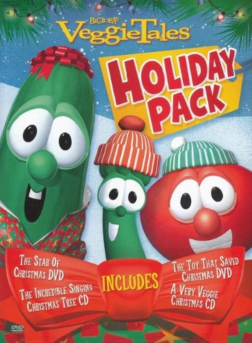 Veggie Tales Holiday Gift Pack (US-Import: CD + DVD NTSC)