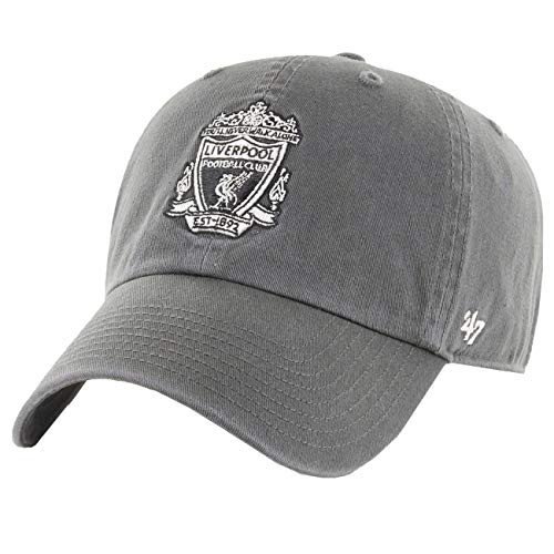 47 Brand Relaxed Fit Cap - FC Liverpool Retro Logo Charcoal -
