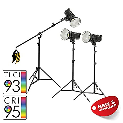 PIXAPRO® LED100D MKII Daylight LED Continuous Studio Video Interview Film