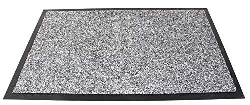 Area1 Zerbino Trampmat Home Star Grigio Bianco Antiscivolo 40 x 60 cm