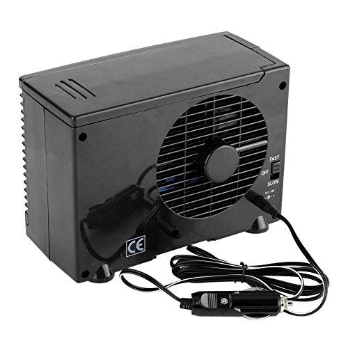 Zerone 12V Ventilador de Refrigeración Coche