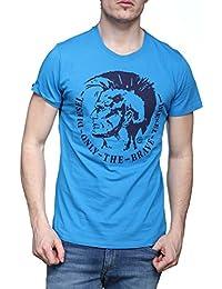 Diesel - T Shirt T-diego-fo 8hc Bleu