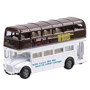 The Beatles Die Cast Bus