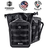 Mission Darkness Dry Shield MOLLE Pouch - Waterproof Dry Pouch for Electronic Device Security & Transport/Signal Blocking/Anti-Tracking/EMP Shield/Data Privacy for Phones, Tablets, etc.