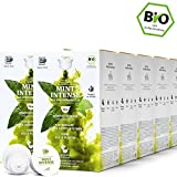 BIO Teekapseln von My-TeaCup | Kompatibel mit Dolce Gusto®*-Maschinen | 100% kompostierbare Kapseln ohne Alu (Pfefferminztee Mint Intense, 160 Kapseln)