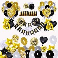 Geburtstag Birthday schwarz 40 50 oder 60 30 Party Krawatte Deko Schlips 18