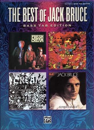 ALFRED PUBLISHING BRUCE JACK - BEST OF - BASS TAB Noten Pop, Rock, .... Bass Tab