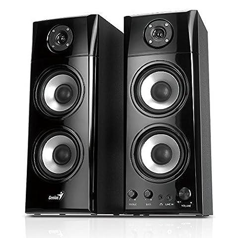 Genius SP-HF 1800 Enceintes PC / Stations MP3 RMS 50