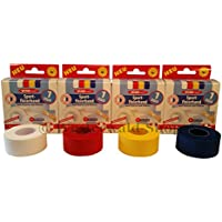 4 Rollen Sportfixierband 25mm breit 4 Farben Elastik-Bandage Sporttape Tape preisvergleich bei billige-tabletten.eu