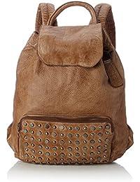 Taschendieb Td0113ol, Bolsos mochila Mujer, Grün (Olive), 13.5x35x36.5 cm (B x H T)