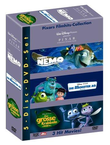 Pixar 3er Box [3 DVDs]