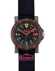 Scout Jungen-Armbanduhr Analog Quarz Textil 280375007