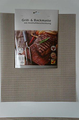 2 x Backmatte Grillmatte mit Antihaftbeschichtung 36x42cm, zuschneidbar