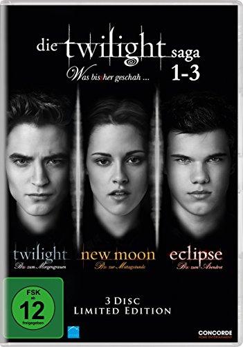 Die Twilight Saga 1-3 - Was bis(s) her geschah. [Limited Edition] [3 DVDs]