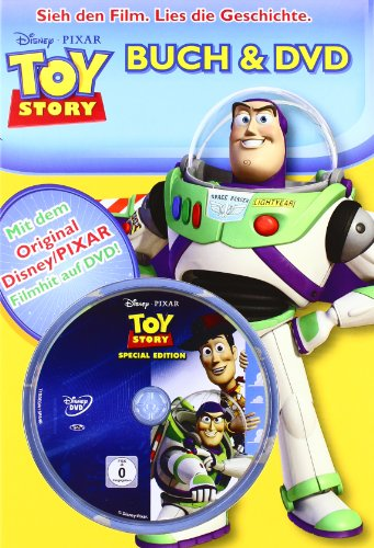 Toy Story 1 Buch und DVD - Hardcover Toy Story