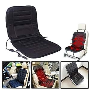 audew 12v universal coussin chauffant voiture de si ge. Black Bedroom Furniture Sets. Home Design Ideas