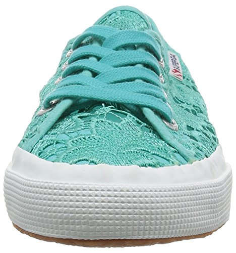 Superga Ladies 2750 Macramew Sneaker Blue (969)