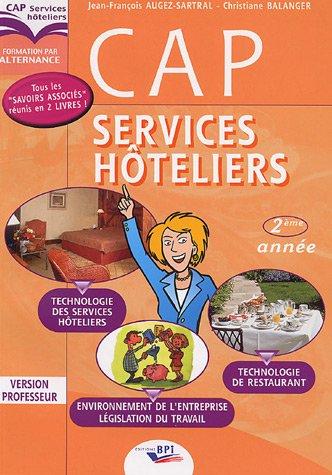 cap-services-htelliers-2e-anne-technologie-des-services-htelierrs-technologie-de-restaurant-connaissance-de-l-39-entreprise-version-professeur