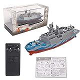 Lorenlli Mini rc boot 2,4 ghz fernbedienung rc träger köder boot spielzeug modell kriegsschiffe für kinder bad spielzeug kinder outdoor spiel rc spielzeug 2#