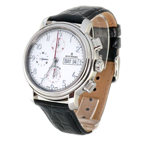 Revue Thommen Men's Automatic Watch 17072.6133 with Leather Strap
