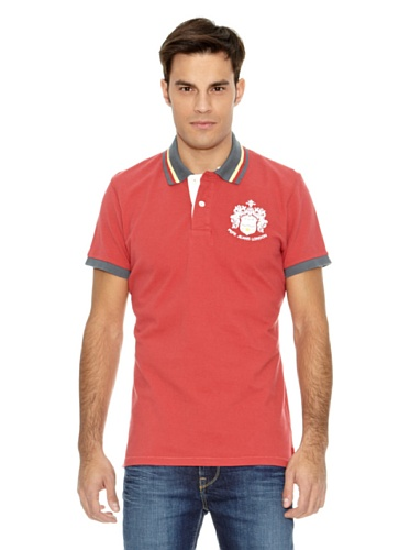 Pepe Jeans London Polo Broadbent Rosso L