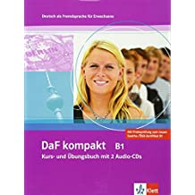 DaF Kompakt - Nivel B1 - Libro del alumno + Cuaderno de ejercicios + CD