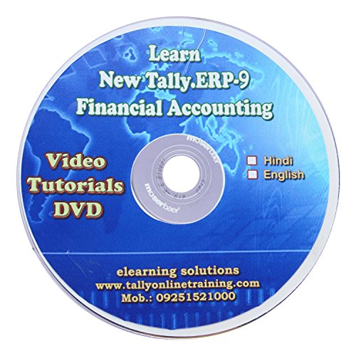 Tally.ERP 9 Financial Accounting Video Tutorial DVD in Hindi